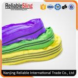 3 tonnellate del poliestere infinito ad alta resistenza di imbracatura rotonda della tessitura