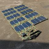 60W 21V/5 V de la Banque d'alimentation à sortie double Chargeur Panneau solaire