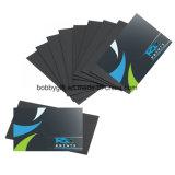 Magnete su ordinazione stampato poco costoso di formato del biglietto da visita dei magneti