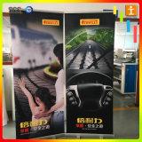 Base large Rouleau de support d'affichage de la publicité jusqu'Banner