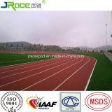 Pista atletica dell'unità di elaborazione delle superfici dell'atletica leggera dello stadio