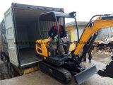 Excavatrice d'écran de chenille des machines 1800kg de la terre de Wy18h mini