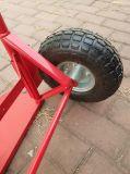 Carga pesada de 2 rodas carrinho de mão de metal para a Europa