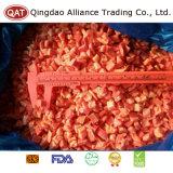 Qualität gefrorener roter Pfeffer würfelt