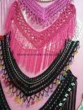 Реальные вороты вязания крючком руки, ворот сбор винограда Handmade Crocheted