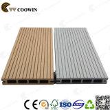 Scheda di piattaforma composita di plastica di legno di collegamento di Decking di WPC (TW-02B)
