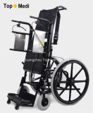 Topmedi Lever와 Air Operated Manual Standing Wheelchair