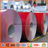 Bobina de aluminio cubierta color de Ideabond para el ACP