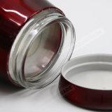 Металлическая крышка Стеклянная емкость для хранения продуктов питания S/3