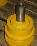 Rouleau supérieur de rouleau de dessus de rouleau de transporteur de Kobelco pour des pièces de train d'atterrissage de bouteur d'excavatrice de machines de construction