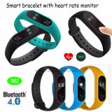 OLED Display M2를 가진 승진 Gift Smart Silicone Bracelet
