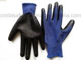 Нитрил покрыл трудные защитные перчатки работы безопасности