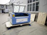 Hölzerner lederner CO2 Laser-Ausschnitt-Gravierfräsmaschine-acrylsauerpreis
