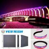 Neuer und spezieller farbenreicher flexibler LED-Video-Bildschirm