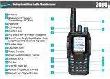 Wouxun kilogramme radio À ONDES MÉTRIQUES à deux bandes de la fréquence ultra-haute 136-174MHz et 400-480MHz d'UV8d
