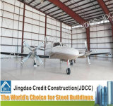 Structure en acier léger aircraft hangar