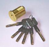 Amerikanischer Standardnut-Verschluss-Zylinder-Messingschlüsselverschluss-Zylinder