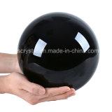 Твердый большой цвет черноты кристаллический шарика для домашних декоров