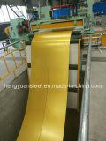 Желтый цвет крыши оформление материалов PPGI Prepainted катушки оцинкованной стали