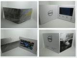 La máxima calidad de vídeo LCD 7 pulgadas LCD Card-Video Folleto: saludo en la impresión