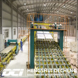 Machine de fabrication de panneaux de gypse avec combustion directe Type d'air chaud