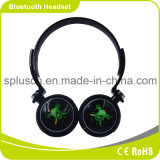 Écouteur bleu de stéréo de dent de microphone mains libres intrinsèque