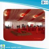 50 pessoas em alumínio branco tenda para casamento festa de concertos