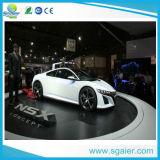 차 전시를 위한 Sgaierstage 회전식 무대, 전람 단계 차 자전 단계