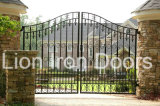 Hand-Crafted Elegant Security Iron Driveway Gates