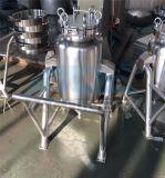 100l 8bar réservoir d'air en acier inoxydable pour le compresseur