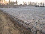 Maillage de gabions, d'inondation de gabions barrière de paroi de maillage