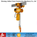 1 Tonne Trolley Operation Electric Motor Chain Hoist mit Reducer