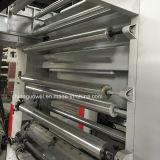 8 couleurs à trois moteurs Medium-Speed héliogravure Machine
