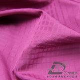 50d 270t & Wind-Resistant открытый Sportswear вниз куртка из тончайшего Клетчатую жаккард 100% полиэстера накаливания (53132L)