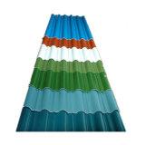 Kleur Met een laag bedekte Staal Verglaasde Tegel voor het Dakwerk van het Huis