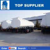 Koolstofstaal 40, 000 van de Brandstof Liter van de Tank van de Aardolie van de Tanker van de tri-As van de titaan Vloeibaar Van de Aanhangwagen van de Tank