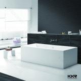 Superfície sólida Kingkonree pequena banheira para chuveiro