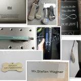 Máquina de la marca del laser de la fibra para la placa de identificación del acero inoxidable