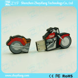 Custom 2D Motorcycle & Autocycle Shape USB Flash Drive (ZYF1088)