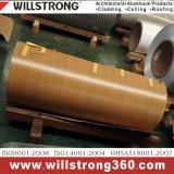 0,3 mm de aluminio color bobina PE Revestimiento