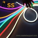 Sin puntos de silicona con protección UV LED Neon Flex luz exterior