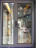 Guichet en aluminium de tissu pour rideaux de couleur grise personnalisé par qualité (ACW-002)