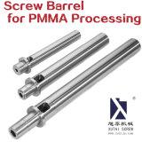 Canhão de parafuso para processamento de PMMA