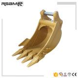 """Mini 16"""" de la excavación de la cuchara con 4 dientes Wear-Resistant"""