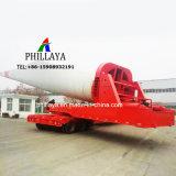 Da 360 gradi della lamierina del tubo della torretta di trasporto di zona montagnosa del camion rimorchio rotativo del mulino a vento semi