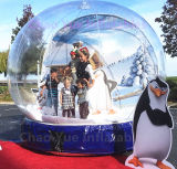 Mooie Opblaasbare Snowglobe toont Bal voor de Decoratie van Kerstmis