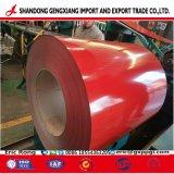 Cor de aço revestido a folha PPGI Antifinger Factory