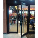 Дверь K08009 Casement порошка цвета Brown Coated алюминиевая