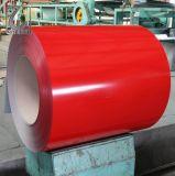 Ral 3005는 PPGI 색깔에 의하여 입힌 강철 코일을 Prepainted