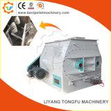 Alta eficiencia de la máquina de mezcla de la alimentación animal Double-Shaft
